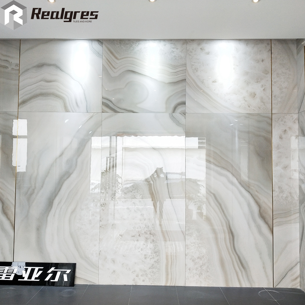 1200x2400 Large Format Polished Glazed Thin Marble
