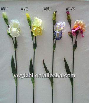 44 artificial silk flower of iris bush buy artificial irish 44quot artificial silk flower of mightylinksfo
