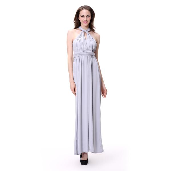 4516bad747 Mujeres al por mayor larga vestido convertible infinity vestido aspecto  diferente