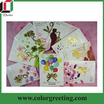 Handmade Birthday Greeting Cards With Fancy Designs