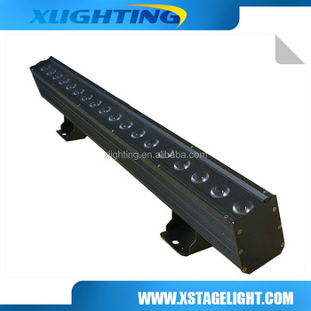 RGBWA Leds dots control 18*15W Pixel led bar light