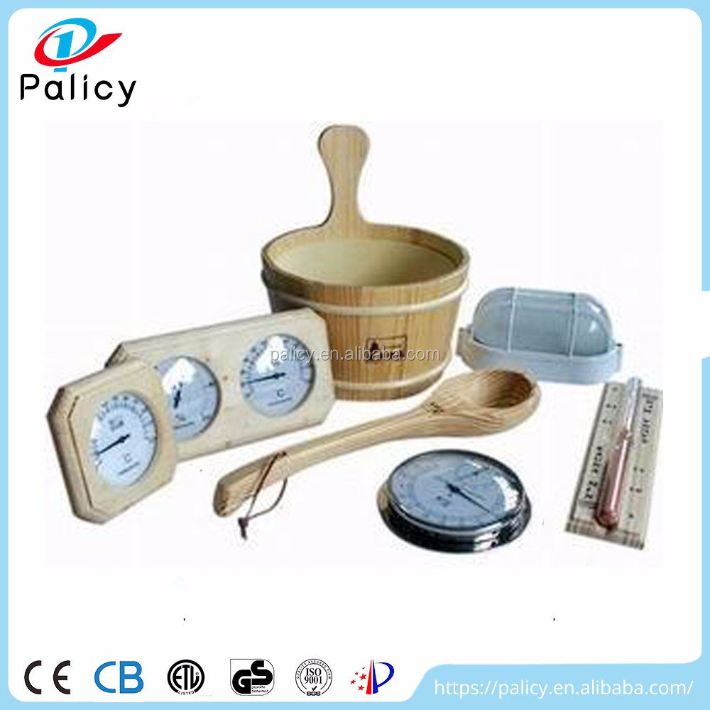 Professional production factory price wooden sauna accessories