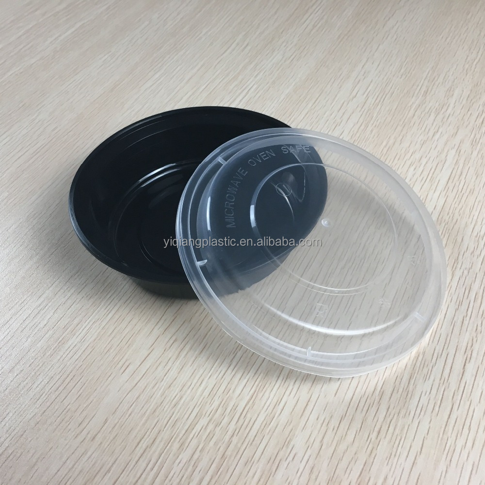 wholesale 16OZ disposable <strong>plastic</strong> / pp salad / food / fruit bowl / container with lid supplier