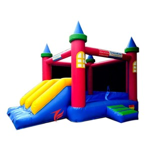vinyl inflatable trampoline castle inflatable bouncer