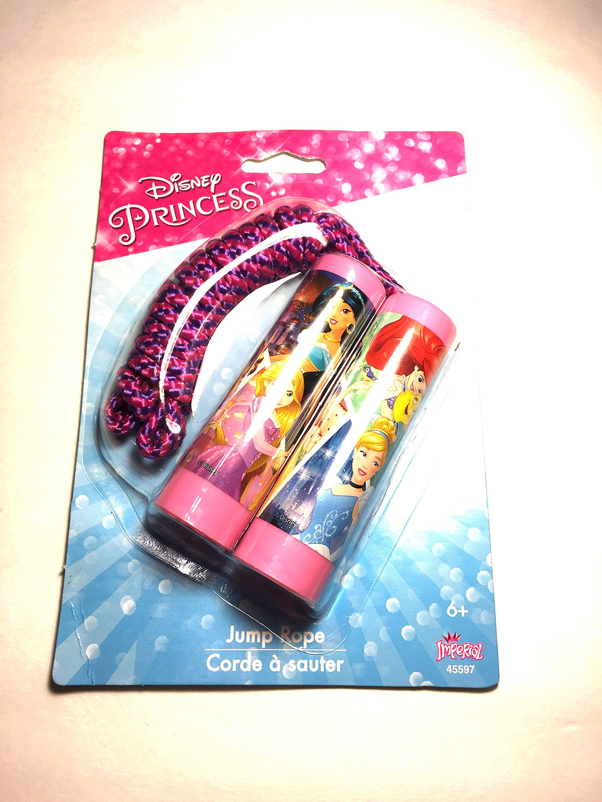 Adorable Disney Princess Jump Rope!