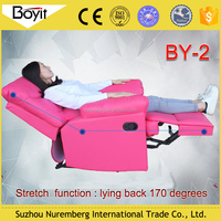 Online pay multi-function pink 1 seater soft sofa support Trade Assurance in Canada