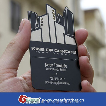 Custom Metal Business Card Cards Plastic Transpa Printing
