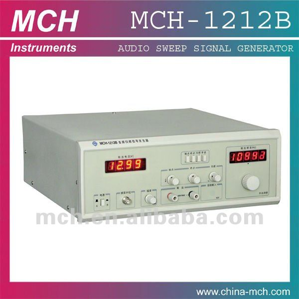 Audio Frequency Sweep Signal Generator 20Hz-20KHz /audio signal generator/MCH-1212B