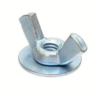 High quality rounded wing nut washer based wing nut