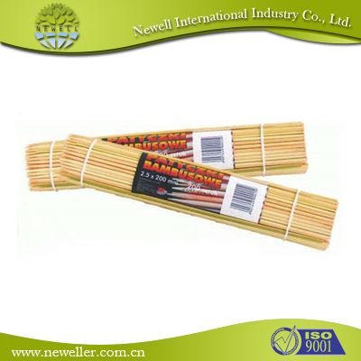 2015 HOT SELLING decorating cocktail bamboo sticks corn dog bamboo sticks