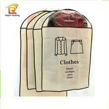 High quality promotional mens suit cover garment bags