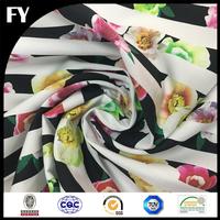 Chinese Manufacturer Custom Digital Printed Organic Fabric