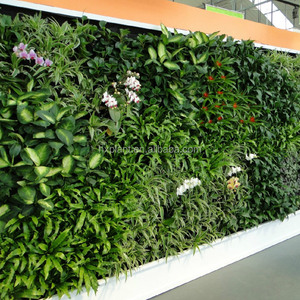 indoor and outdoor decoration fake plants artificial green wall