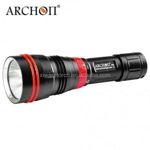 diving torch waterproof brightness of 1200 lumens diving flashlight