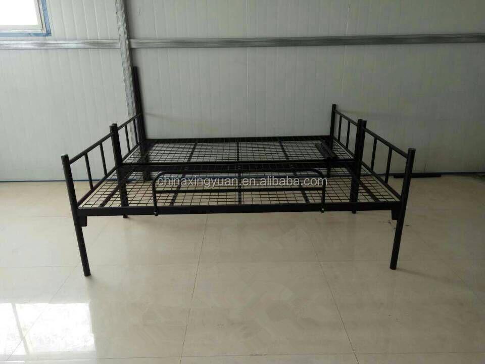 luoyang usine qualit renvers amovible adulte lit superpos en m tal lit pliant id de produit. Black Bedroom Furniture Sets. Home Design Ideas