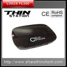 Share Cloud Computing dual core mini linux workstations low power consumption thin client FL300 RDP7.1 Protocol
