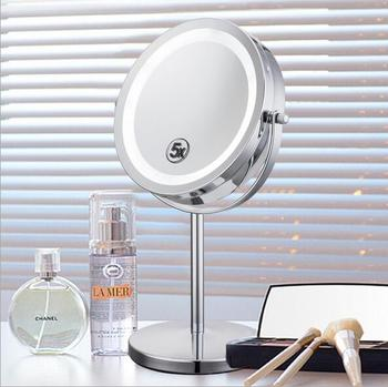 Hot Selling 20x Magnifying Table Mirror Bathroom Stainless Steel