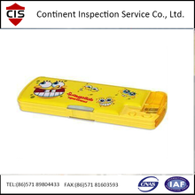Pen bag/Stationery Quality Pre-shipment inspection service and control For Importers And Supermarket