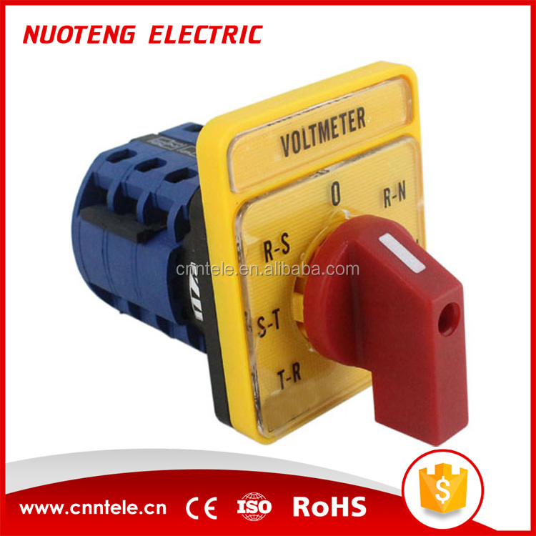 LW26-20 series voltmeter waterproof rotary cam switch for welding machine