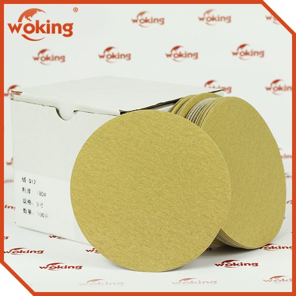 Yellow Sanding disc for automobile polishing