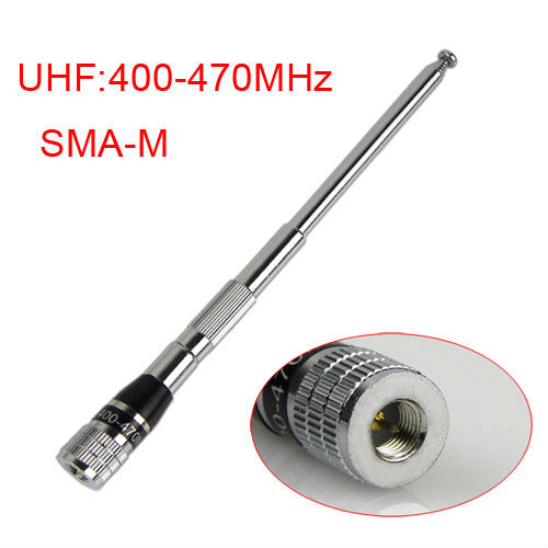walkie-talky antenna SMA-M Male Connector UHF / VHF radio antenna