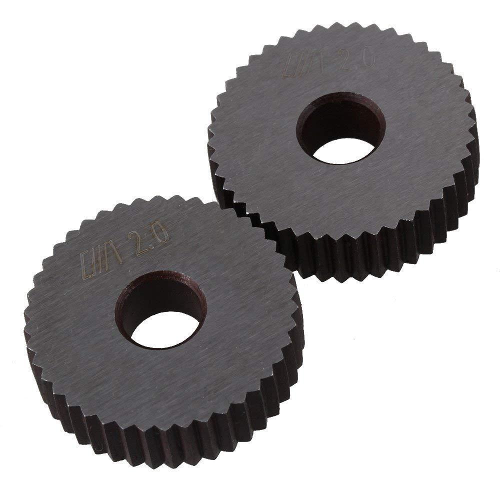 1.2mm Pitch 28x8mm Single Wheel Straight Linear Knurl Knurling Tool