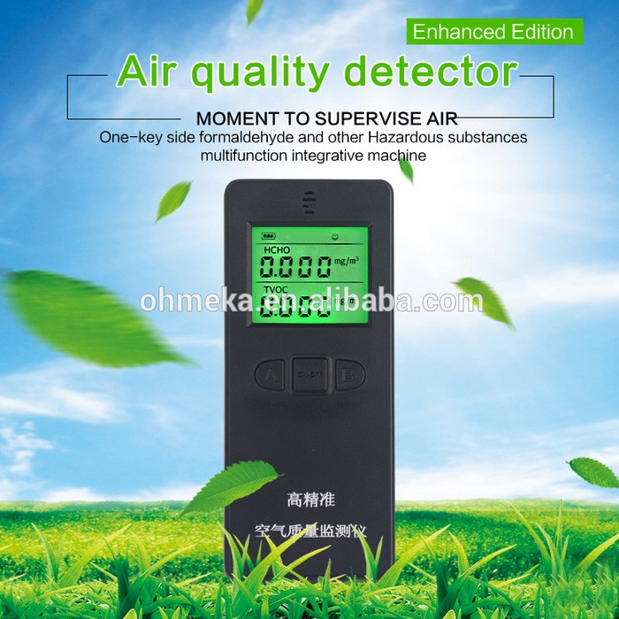 High precision measurement of formaldehyde testing instruments home air quality testing multi-function portable test