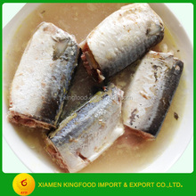 Canned seafood canned mackerel fish from food companies