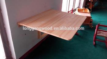 Neue Klassische Goldfolie Holzwand Konsole Hochwertige Holz Wand Schminktisch Montiert Tisch