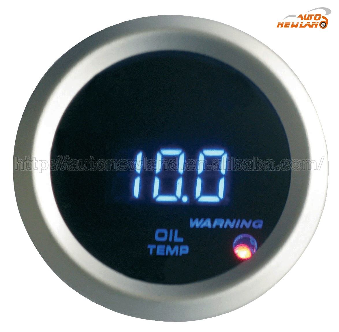 car / auto digital oil temp gauge / meter 2''