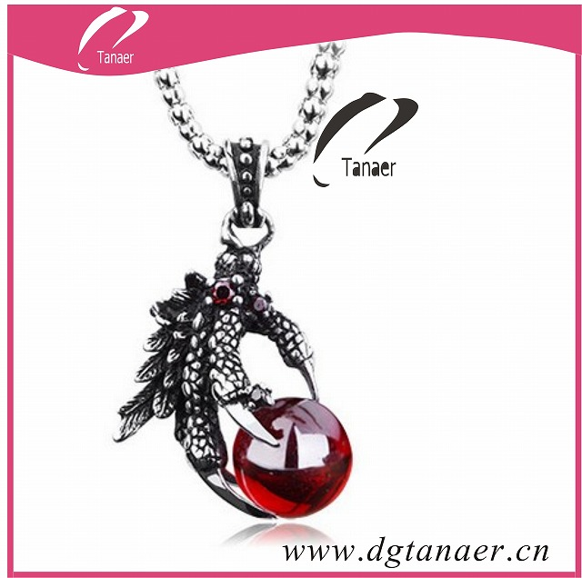 punk style steel jewellery pendent for men