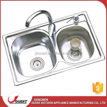 China Best Kitchen Sink Brand Ss 304 Double Bowl Kitchen Stainless ...