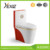 A3311B bathroom equipment wc one piece ceramic red toilet