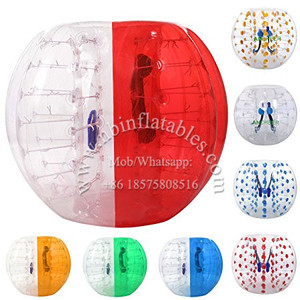 Human Knocker Zorb Ball Inflatable Bumper Bubble Soccer Ball For Football