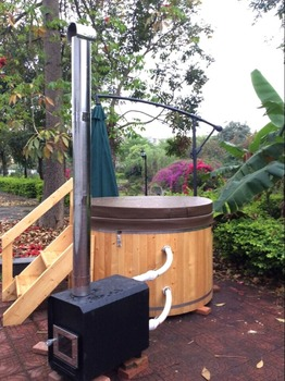 9756f9a976a Keya 1.8m Red Cedar Outdoor Wood Fired Hot Tubs For Sale - Buy ...