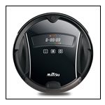 Automatic Robotic Vacuum Cleaner with Water Tank Used for Multiple Floors