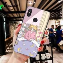 Yinuoda эстетический Забавный kawaii аниме девушка Сейлор Марс Сделай Сам чехол для телефона Xiaomi Mi6 Mix2 Mix2S Note3 8lite Redmi5 note5 Note4 4X(Китай)