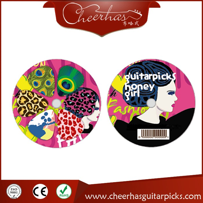 2017 New Design Logo Guitar Picks Custom Guitar Picks
