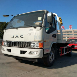 JAC 6 wheeler 3 ton flatbed road wrecker wheel lift tow truck for sale