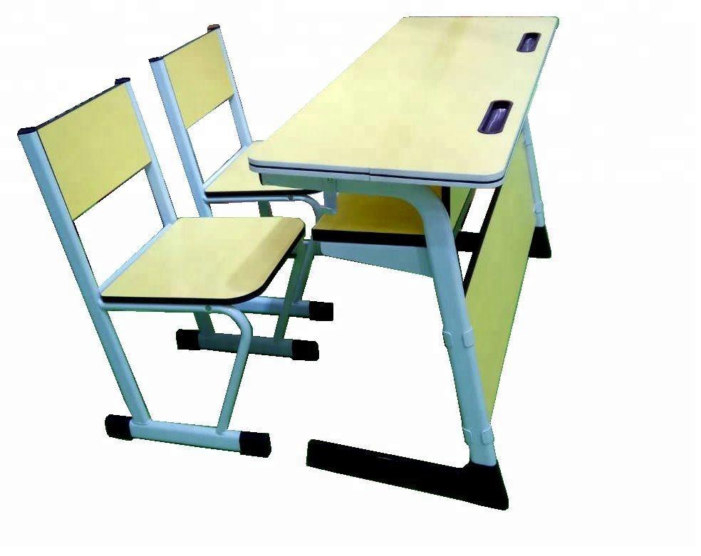 Kz-41s Student Double Desk Wooden Used School Desk Chair - Buy Student Desk  And Chair,Attached School Desks And Chair,Used School Desk Chair Product ...