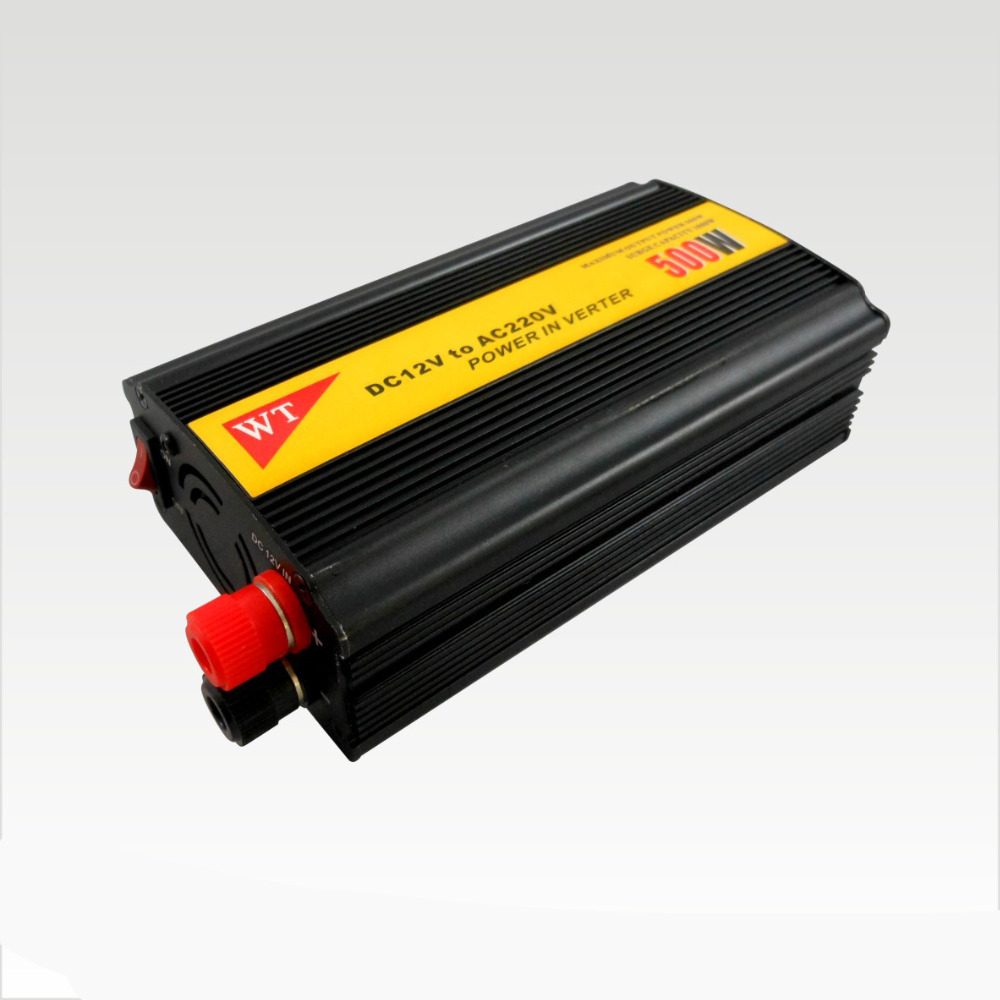 outdoor dc 12v ac 220v car power 500w inverter