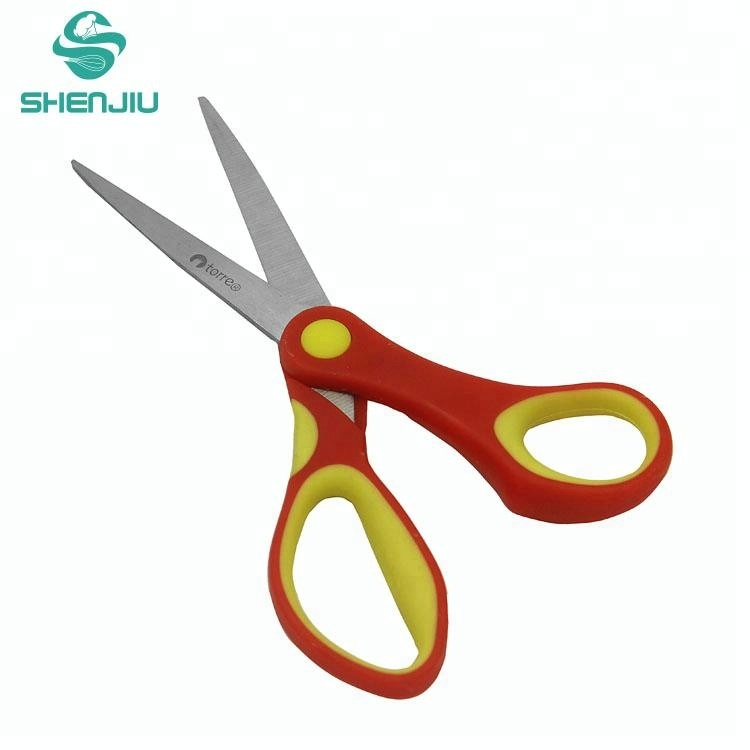 Collection Here Plastic Scissors Safety Round Head Scissors For Kids Students Paper Cutting Supplies For Kindergarten School Cutting Supplies