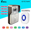 eBELLl ATZ-DBV01P-433MHz Full Duplex Audio 720P WiFi Doorbell Camera Intercom Wireless with Inside Dingdong Chime