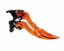 2017 Runmei brand anodization billet 6061aluminum alloy moped scooter part SPEED TRIPLE TIGER 1050 TIGER hand brake clutch lever