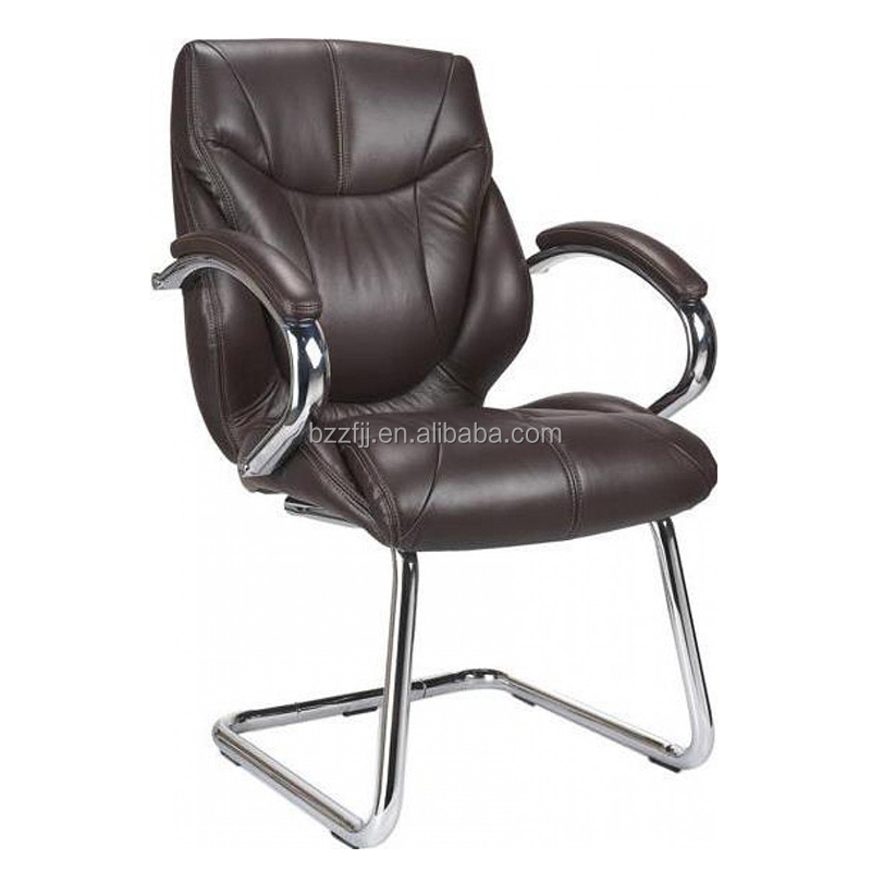 Guest Cantilever Luxurious Fabric Leather Visitors foam office chair