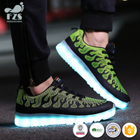HFRTA58 alibaba supplier made led sneakers shoes 2017 mens