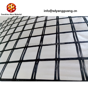 Manufacturer supply 50kn 100kn glass fiber grids for asphalt layers reinforced