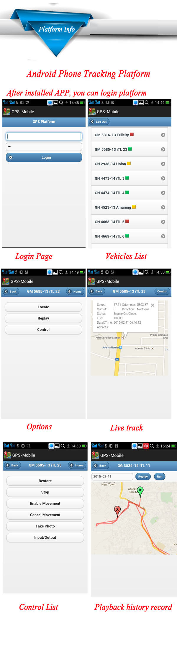 Smart Bluetooth Car Alarm Driver Identifier 3g Vehicle Gps Tracker