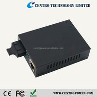 Fiber Optic Media Converter Price For Adaptive Fast Ethernet Optical Media Converter Up to 20Km
