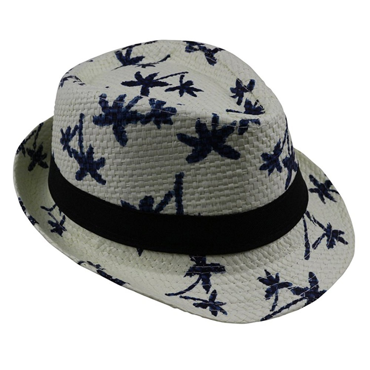 25714e285cc04 Get Quotations · SYBKNSTW Summer Straw Sun Hat Kids Beach Sun Hat Trilby  Panama Hat Handwork for Boy Girl